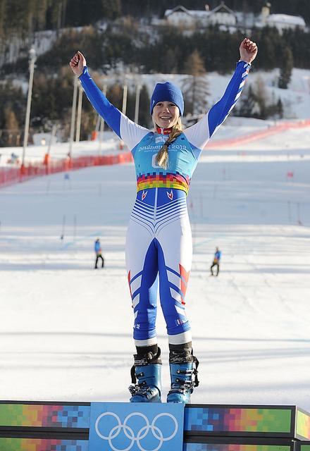5eme Journée - Ski Alpin, Slalom Géant Féminin - OR & ARGENT au rendez-vous !!! 67267111