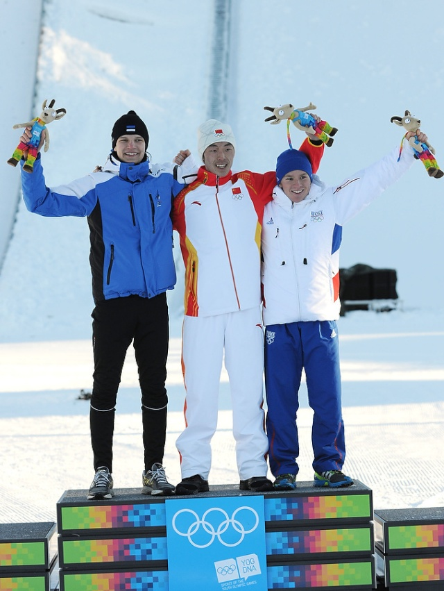 Jeux Olympiques de la Jeunesse d'hiver - Innsbruck 2012 - Une deuxième journée pleine de médailles... mais sans or ! Aristi10