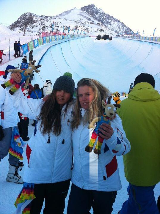 Jeux Olympiques de la Jeunesse d'hiver - Innsbruck 2012 - Une deuxième journée pleine de médailles... mais sans or ! Halfpi10