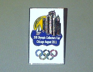 Pin's - 17eme Foire Mondiale des Collectionneurs Olympiques Chicago 2011 Img-2024