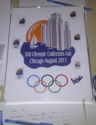XVIIe Foire Mondiale des Collectionneurs Olympiques - Chicago 2011 Img-2037