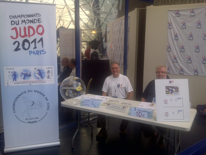 Championnats du monde de Judo, Paris 2011 - L'AFCOS sur le pont ! Img-2042