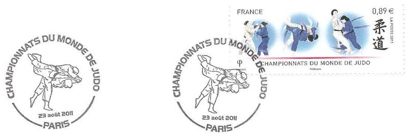 Timbre France (Judo) - Championnats du monde de Judo, Paris 2011 Judo_215