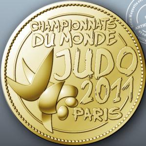 Médaille de Collection des Championnats du Monde de Judo 2011 à Paris Kgrhqq10