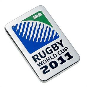 Pin's - Coupe du Monde de Rugby de l'IRB Nouvelle-Zélande 2011 Logo10
