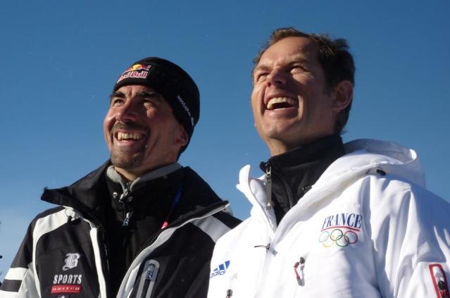5eme Journée - Ski Alpin, Slalom Géant Féminin - OR & ARGENT au rendez-vous !!! Lucalp10