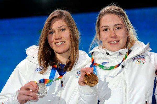 5eme Journée - Ski Alpin, Slalom Géant Féminin - OR & ARGENT au rendez-vous !!! Medail12