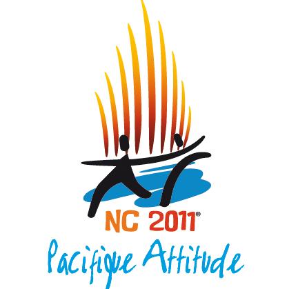 Timbres Nouvelle Calédonie / France - Jeux du Pacifique 2011 Nc201110