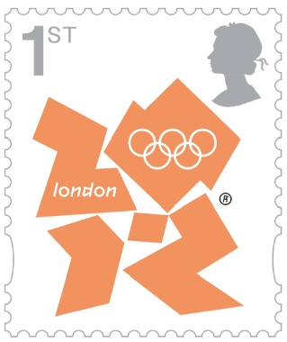2 new stamps unveiled by te Royal Mail celebrating the London 2012 Games Olyfir10