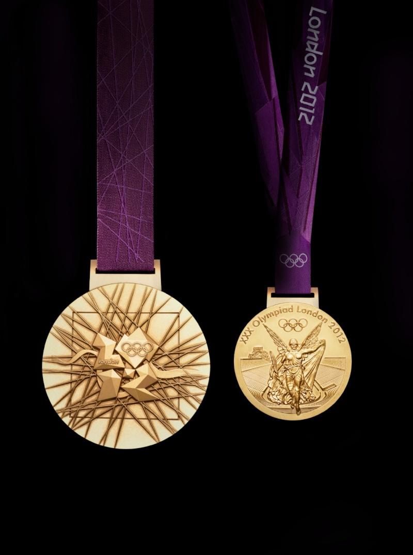 Médailles de vainqueur des Jeux Olympiques et Paralympiques de Londres 2012 Olympi13