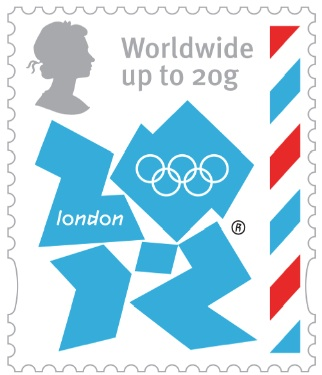 2 new stamps unveiled by te Royal Mail celebrating the London 2012 Games Olyww10