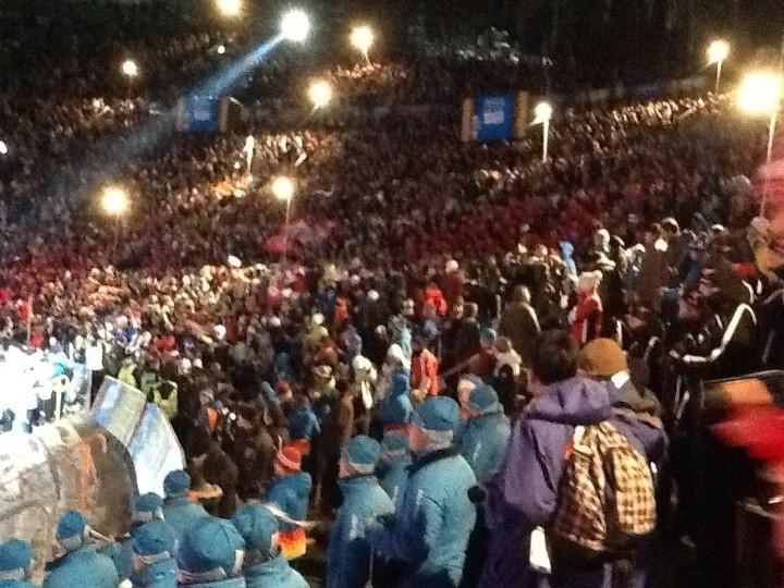 Jeux Olympiques de la Jeunesse d'hiver - Innsbruck 2012 - Cérémonie d'ouverture ! Openin11