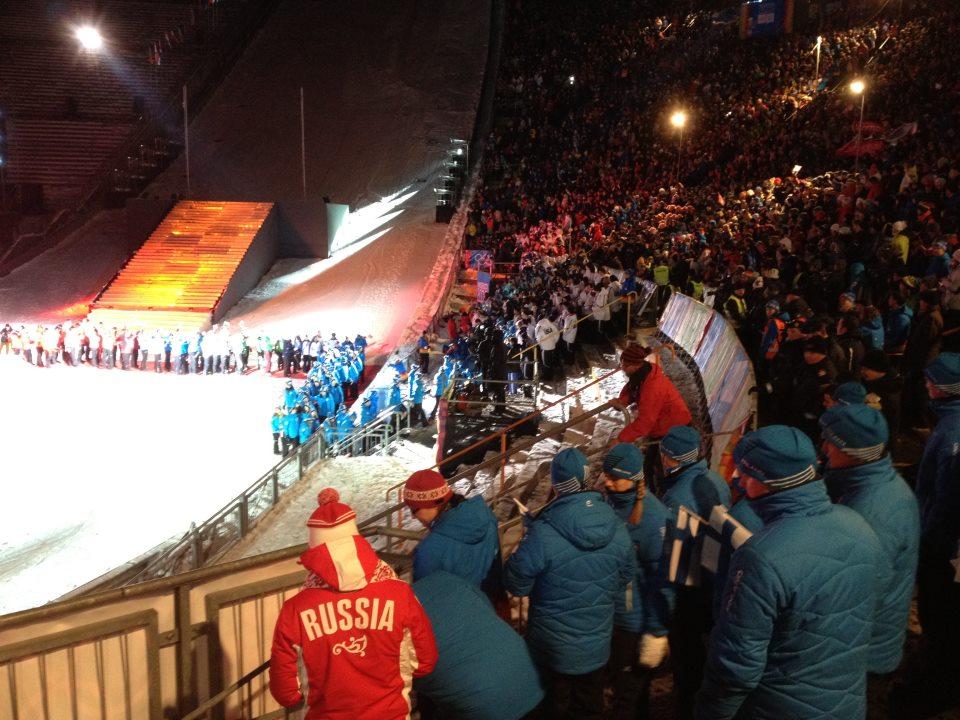 Jeux Olympiques de la Jeunesse d'hiver - Innsbruck 2012 - Cérémonie d'ouverture ! Openin12