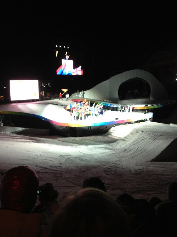 Jeux Olympiques de la Jeunesse d'hiver - Innsbruck 2012 - Cérémonie d'ouverture ! Openin16