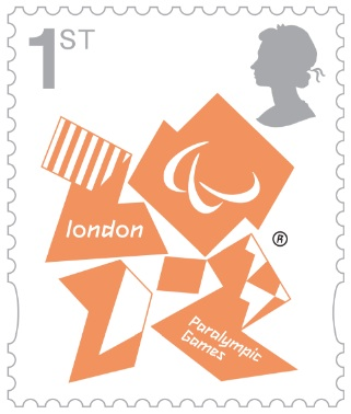 2 new stamps unveiled by te Royal Mail celebrating the London 2012 Games Parafi10