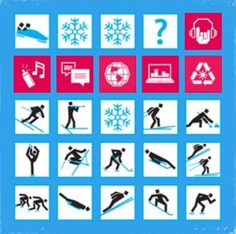 Innsbruck 2012, Jeux Olympiques de la Jeunesse d'Hiver - Pictogrammes Picto10