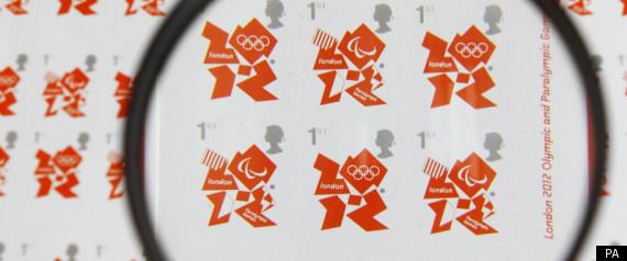 Timbre Officiel (Royaume-Uni) Jeux Olympiques de Londres 2012 - Timbre d'usage courant... R-olym10