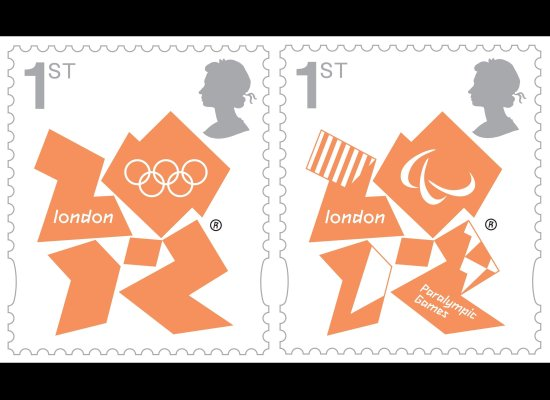 2 new stamps unveiled by te Royal Mail celebrating the London 2012 Games Slide_10