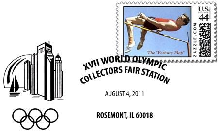 Timbres USA - 17eme Foire Mondiale des Collectionneurs Olympiques de Chicago Souven11