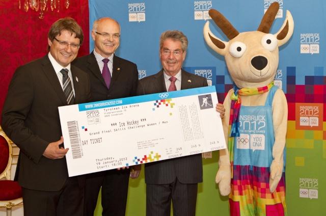 Innsbruck 2012 - Billetterie des Jeux Olympiques de la Jeunesse d'hiver Ticket10