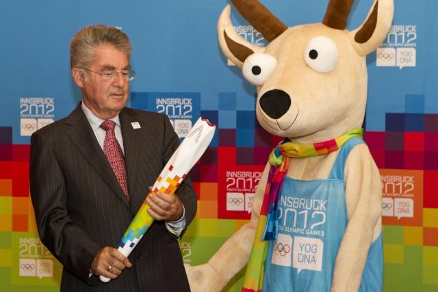 Innsbruck 2012 - Torche & Relais de la flamme des Jeux Olympiques de la Jeunesse d'hiver Torch10