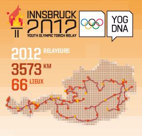 Innsbruck 2012 - Torche & Relais de la flamme des Jeux Olympiques de la Jeunesse d'hiver Torch_10