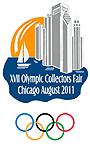 Timbres USA - 17eme Foire Mondiale des Collectionneurs Olympiques de Chicago Wocf-210