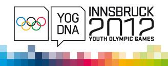 Innsbruck 2012 - Billetterie des Jeux Olympiques de la Jeunesse d'hiver Yog-2010