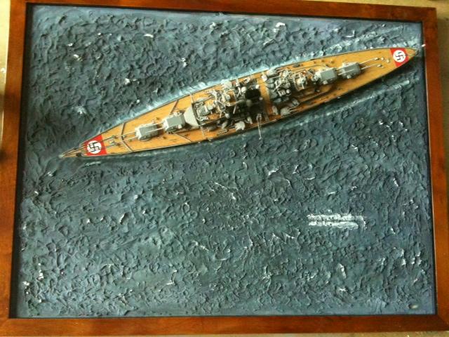 DKM Bismarck au 1/700 1111