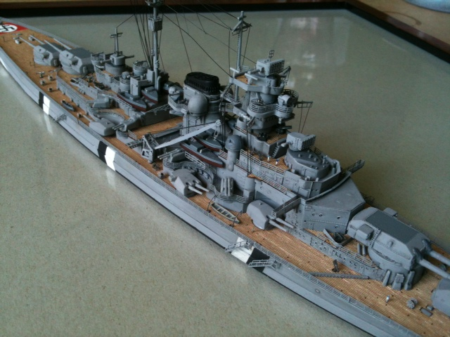 DKM Bismarck 1/700 Dragon 1310