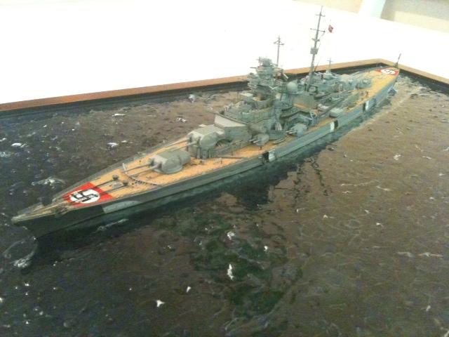 DKM Bismarck au 1/700 Bis310