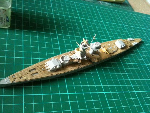 Dernière rencontre entre le Graf Spee & l'Altmark 1/700 Photo19