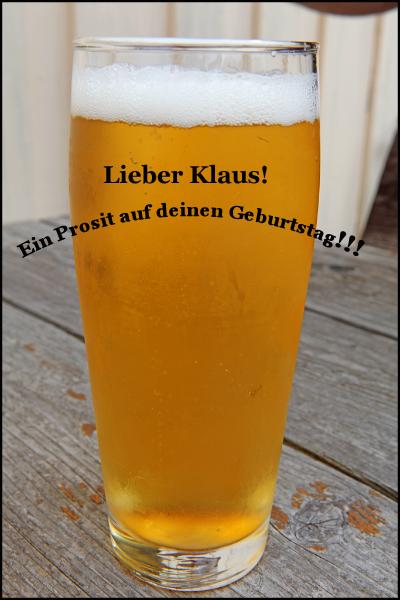 Herzlichen Glückwunsch Klaus!!! Zischh10