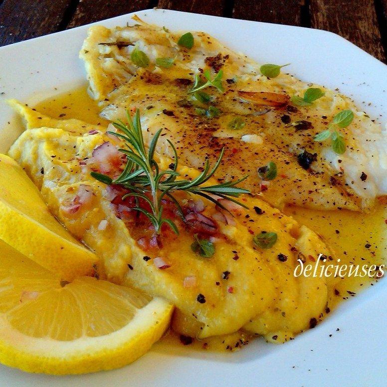 Φιλέτο ψαριού στο φούρνο με μους φάβας 00144510