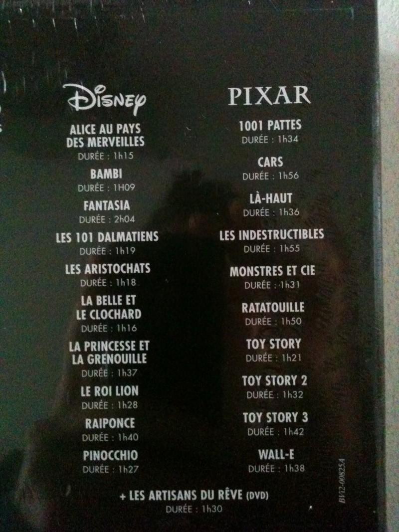 [BD + DVD] 20 ans de Disneylanbd Paris : le coffret Disney-Pixar (20 films + DVD bonus) Img_0510