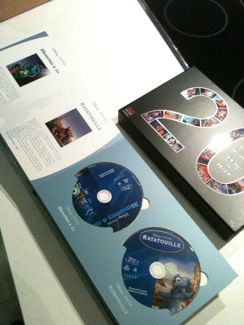 [BD + DVD] 20 ans de Disneylanbd Paris : le coffret Disney-Pixar (20 films + DVD bonus) Img_0515
