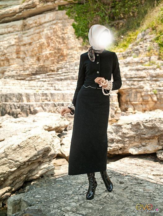 ازياء - ازياء المحجابات - 2012 - ازياء المحجبات - 2012 7b315d10