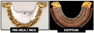 Similitudes troublantes entre les civilisations inca et égyptienne Egypti11