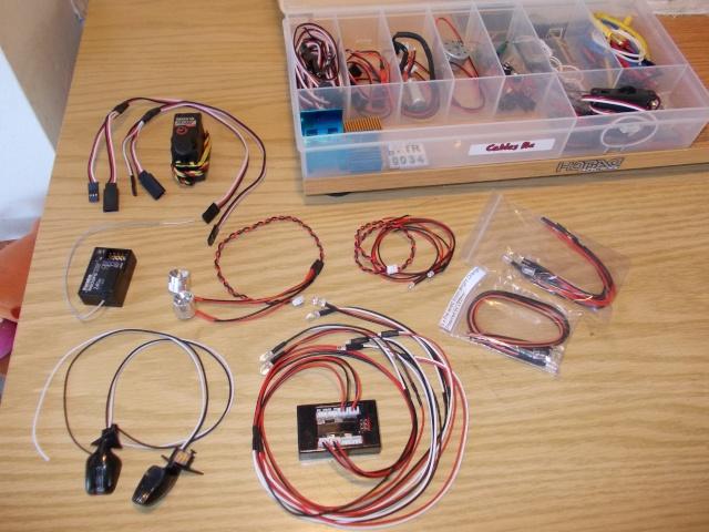 """Kit de luces """"reales"""" para un rc (a ser posible, que sea lento): 129"""