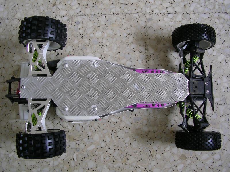 Cubre fondo chasis artesanal  7710