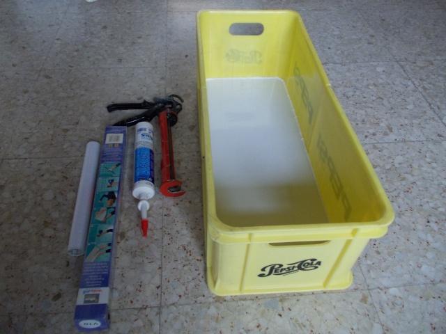Caja de transporte hecha con dos cajas de Pepsi Cosas_84