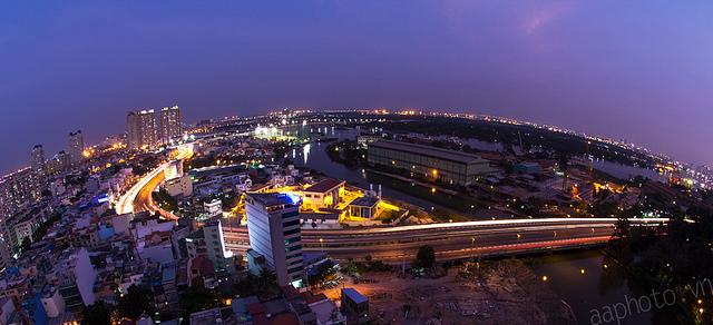 Sài Gòn lung linh trong hoàng hôn 1110