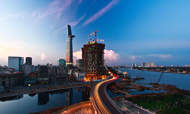 Sài Gòn lung linh trong hoàng hôn 115