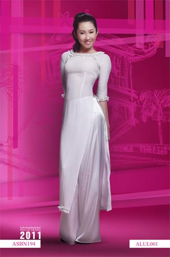 Áo dài trắng nữ sinh 13076011
