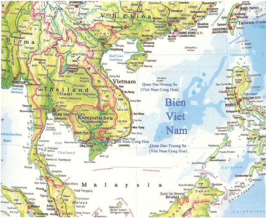 Bản đồ Việt Nam 13434410