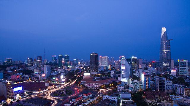 Sài Gòn lung linh trong hoàng hôn 513