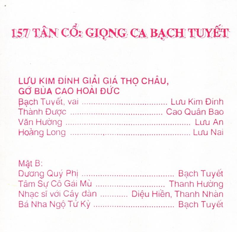 Giọng ca Bạch Tuyết Bachtu13