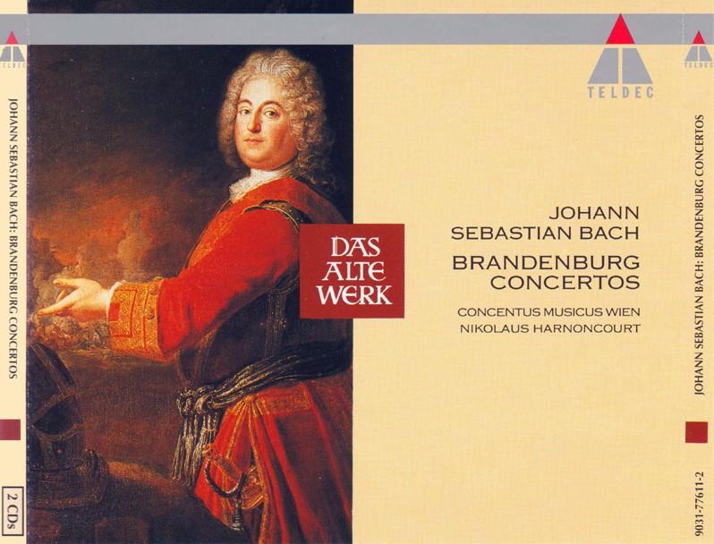 J. S. Bach - Brandenburg Concertos Front110