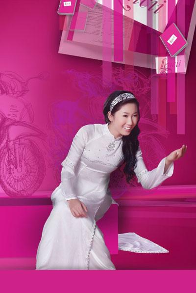 Áo dài trắng nữ sinh Thai-t10