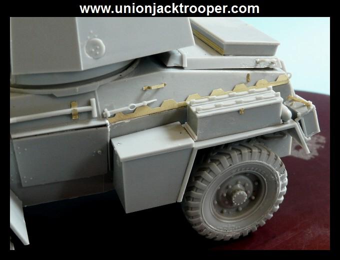 peinture - [Unionjacktrooper] HUMBER ARMOURED CAR Mk.IV BRONCO-peinture en cours'13/06) P1030411